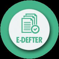 E-DEFTER UYGULAMASI